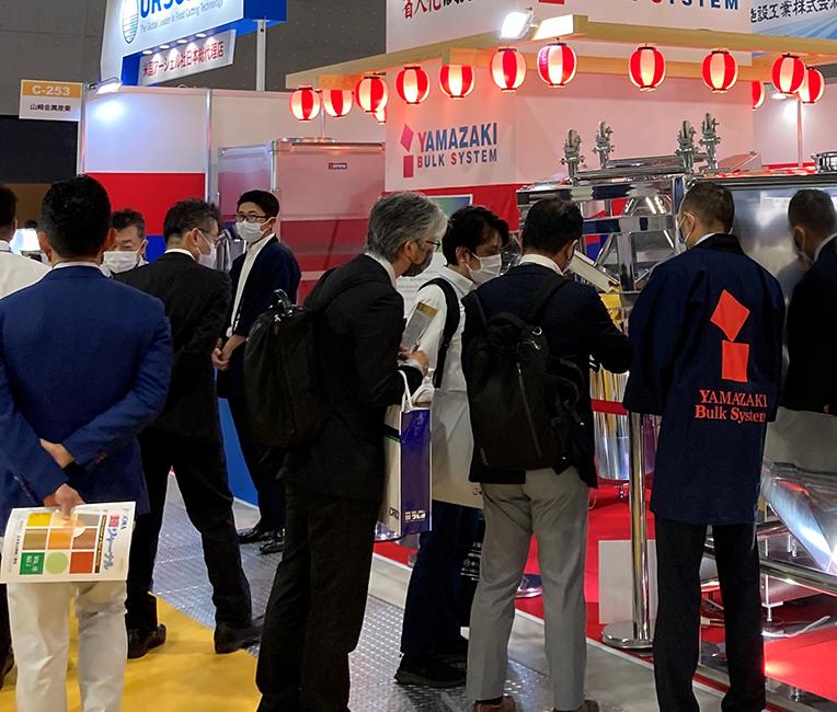 【展示会出展御礼】バルクシステム「FOOMA JAPAN」
