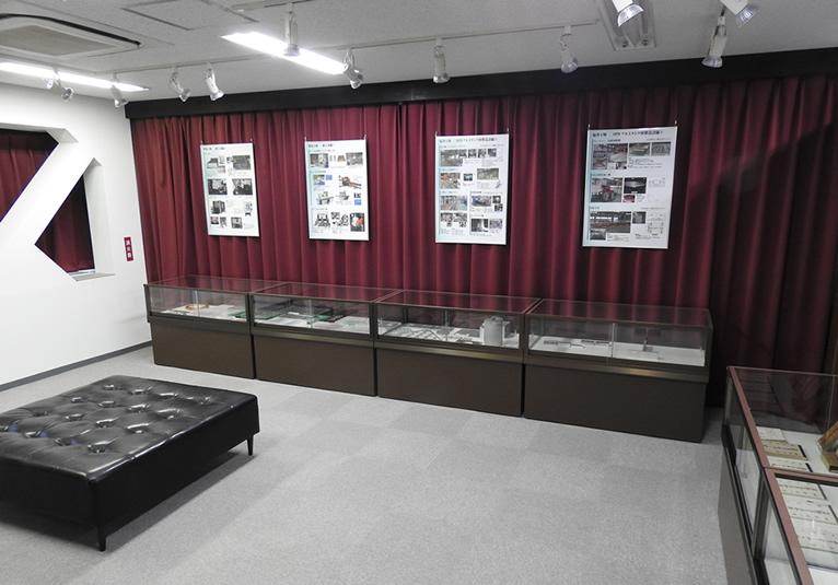 6月18日より本社隣接ビルにて「展示室」を公開しました