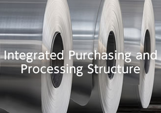 Integrated Purchasing and Processing Structure
